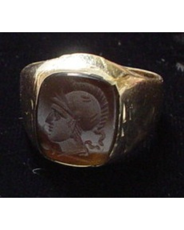 Gorgeous Cameo Intaglio Yellow Gold