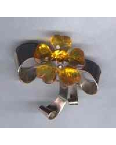 Coro RETRO Sterling Bow Pin