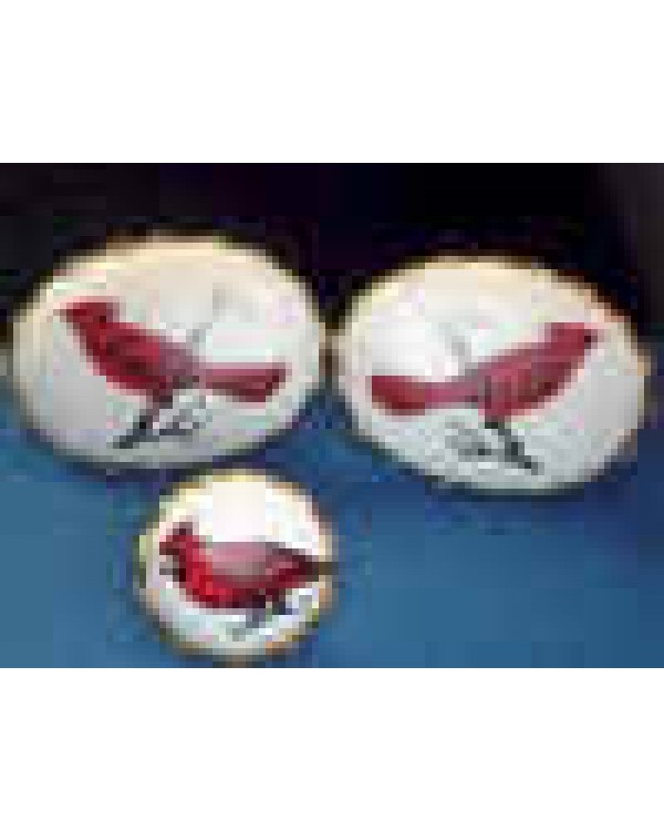 Hand Painted Birds on Porcelain