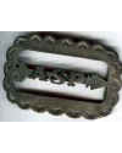Indian Sterling Silver Belt Buckle ASP