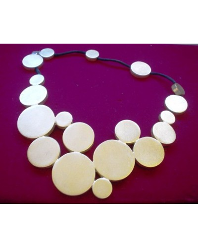 Retro Heavy Chunky Metal Necklace