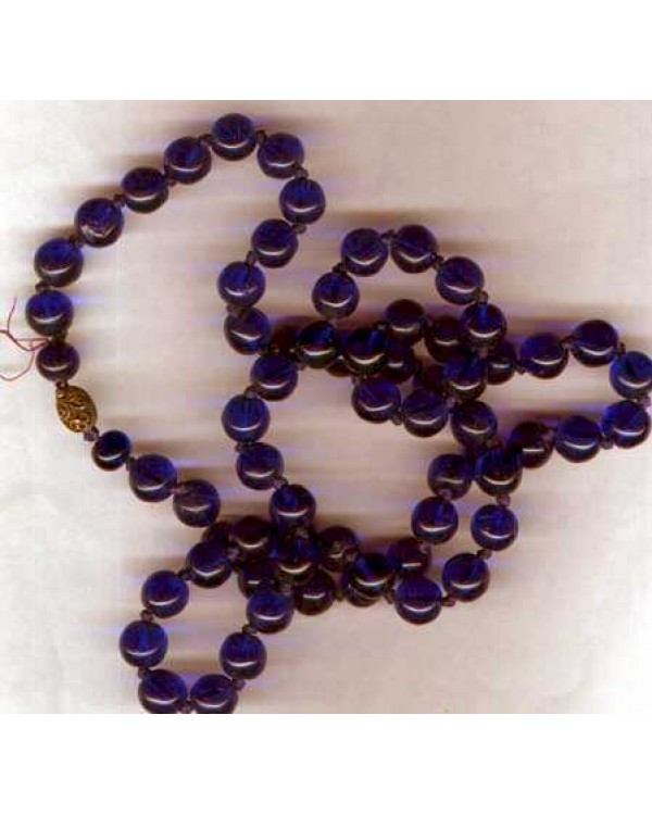 Vintage Cobalt Blue Glass Beads