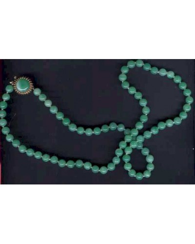 Green Peking Glass Necklace