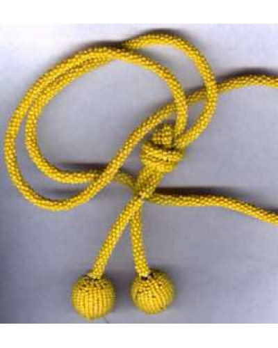 Yellow Bead Rope