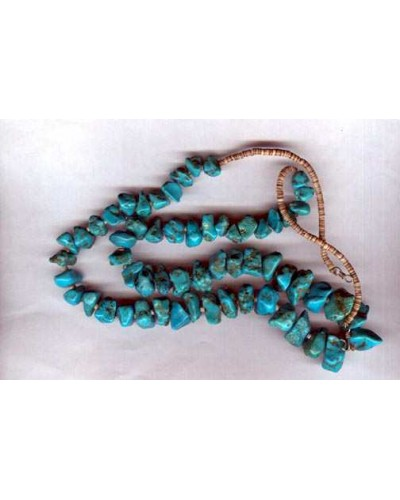 Chunks of Turquoise Necklace