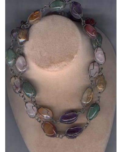 colored semi-precious stones,
