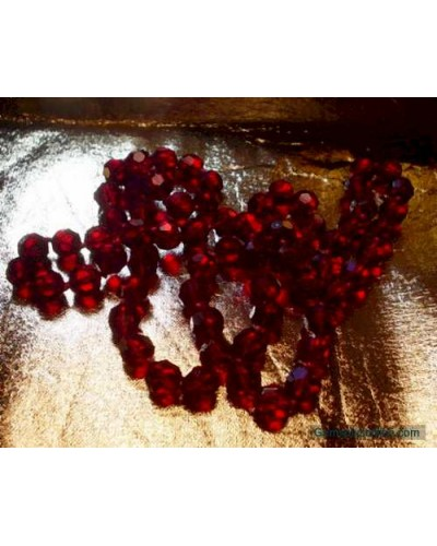 Stunning Cherry Red Crystal beads
