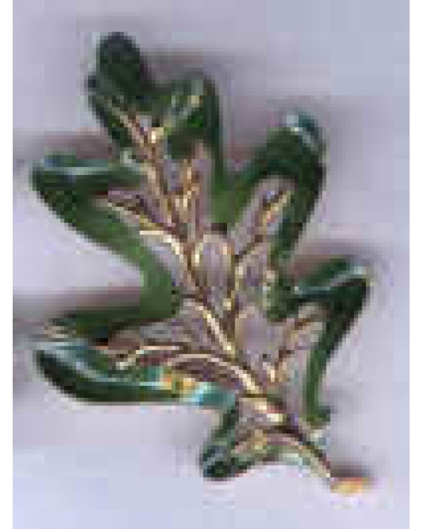 Enchanted Forest Enamel Leaf Pin only