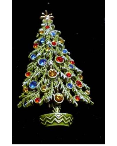 ART Christmas Tree Pin