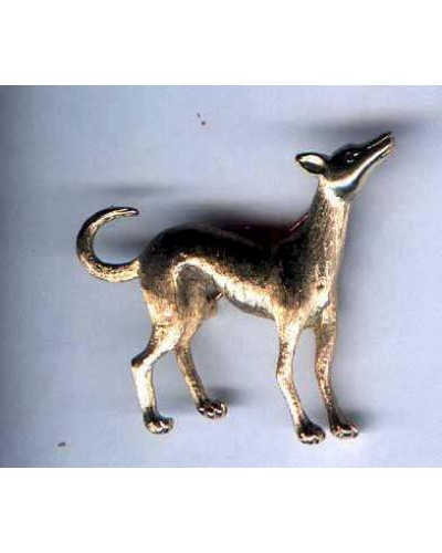 Boucher Greyhound Dog Pin