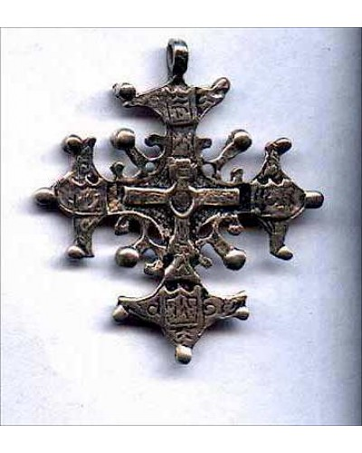 Sterling Cross Pendant