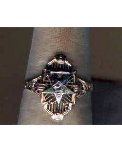 Masonic Star Ring