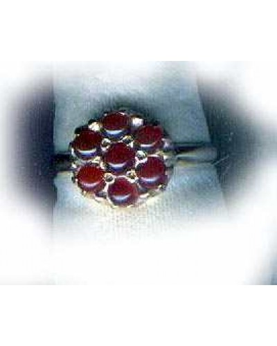 Vintage Carnelian Celtic Gold Ring