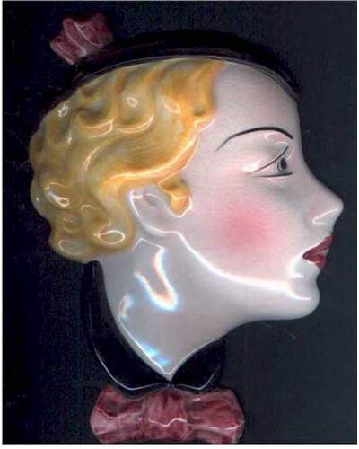 Art Deco Wall Mask