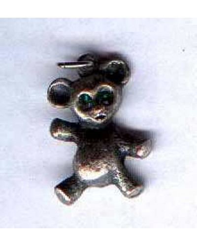Pewter Metaltone Bear Charm