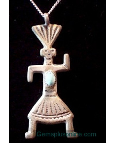 Kachina Sterling Pendant