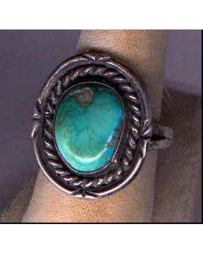 Size 9 Turquoise Ring